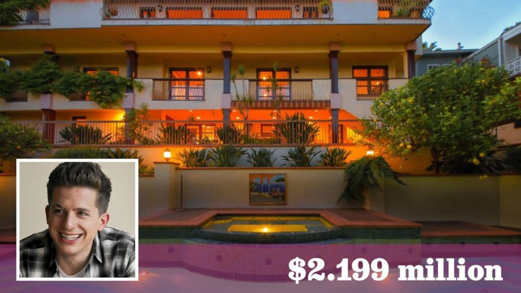 Singer charlie puth lists his 1950s home in hollywood for Luxury homes in hollywood hills