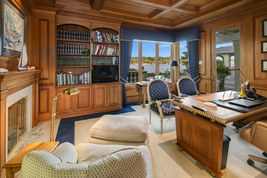 $22 Million Mercer Island Mansion Feels a Little Like a European Palace LUXURY HOMES