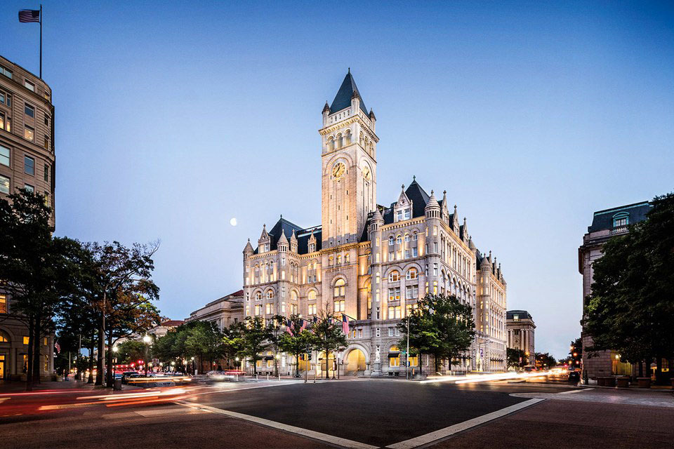 Romanesque Revival Style Trump International Hotel