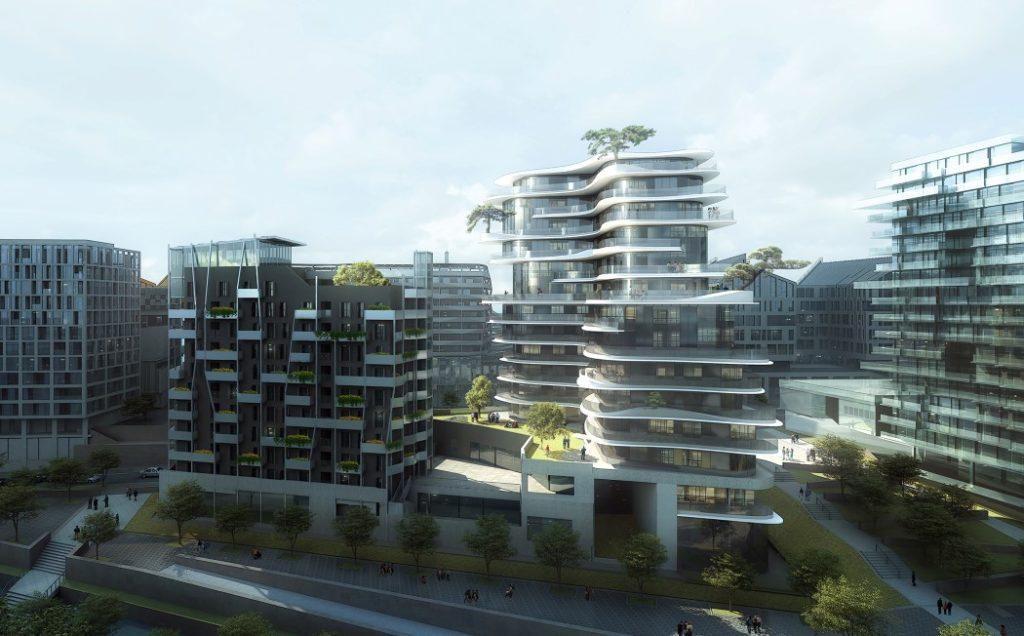 Fluid Inspired Futuristic Architecture Futuristic Architecture