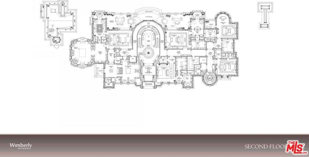 Beverly Hills Mega Mansion Design Proposal in Beverly Park on a $32