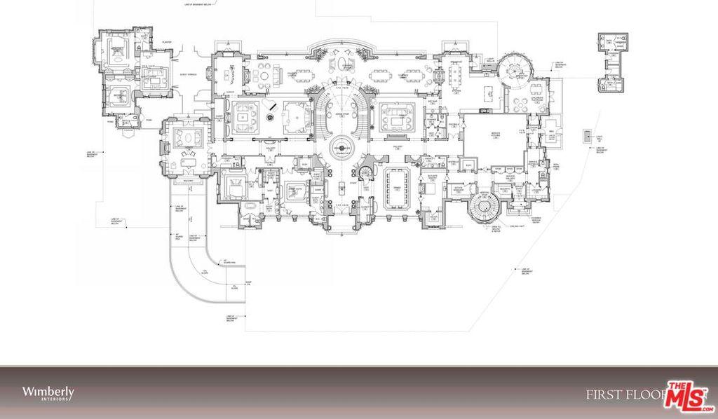 . Beverly Hills Mega Mansion Design Proposal in Beverly Park on a  32