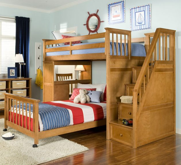 Bunk Bedideas: 15 Beautiful And Amazing Bunk Bed Designs You Need To See