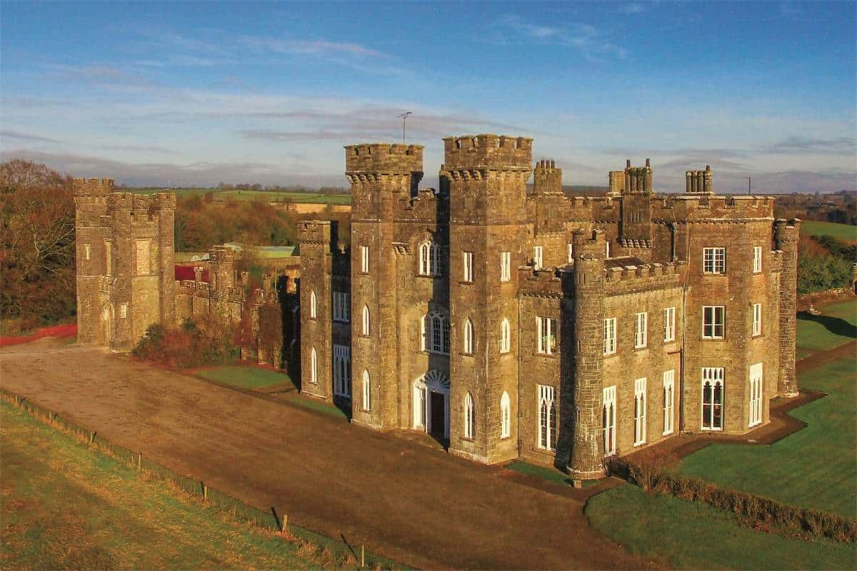 Fit For Royalty | The Amazing Knockdrin Castle in Ireland ARCHITECTURE Castles ans palaces Medieval Gothic Style Architecture
