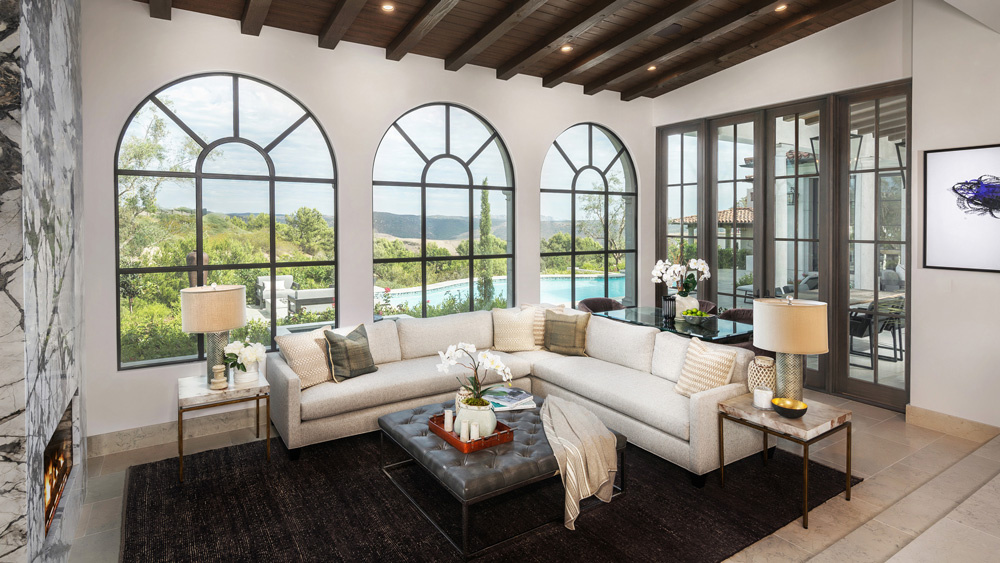 Chic and Modern Mediterranean Mansion in Newport Coast Lists for $20 Million ARCHITECTURE LUXURY HOMES Luxury Homes Tours Mediterranean Style Architecture