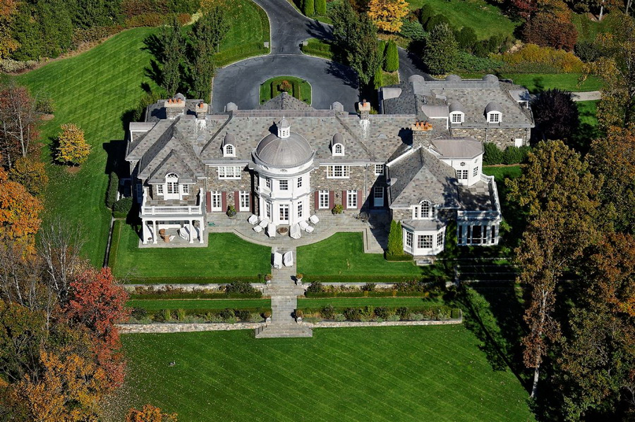 86 Acres Glamorous Grand Georgian Residence in New York ARCHITECTURE English Manor Style Architecture LUXURY HOMES Mega Mansions