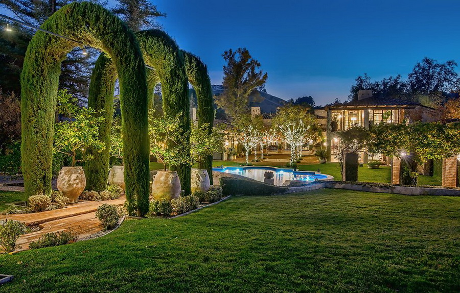 Luxury Southern French Country Style Estate In California