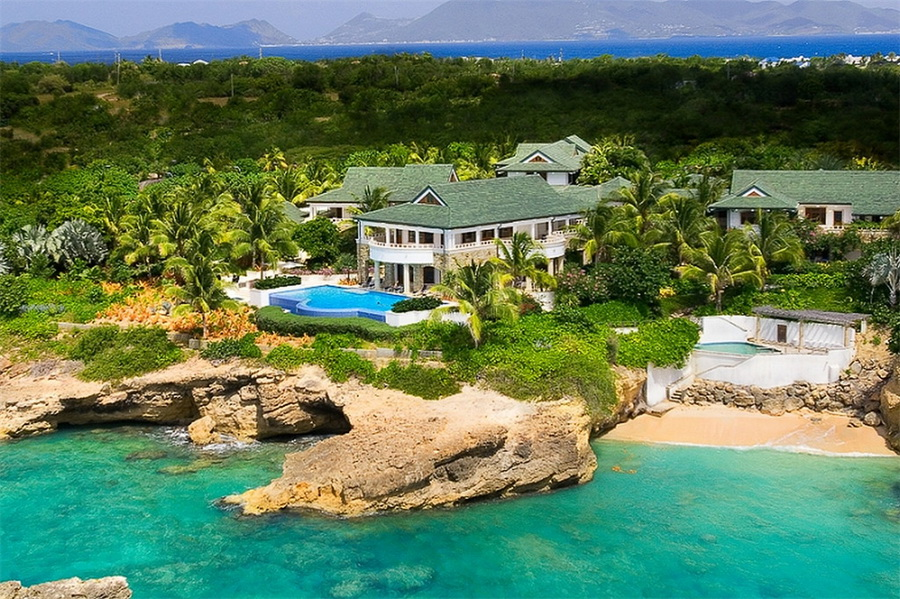 One of the Caribbean's Most Spectacular Homes and the Ultimate Island Retreat LUXURY HOMES