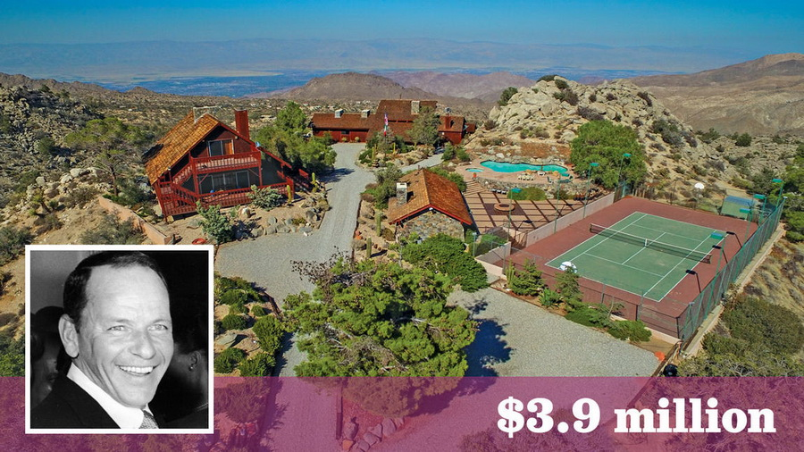 Frank Sinatra's Retreat Home in Palm Desert Is Up for Sale for $3.9 Million CELEBRITY HOMES LUXURY HOMES Luxury Homes Tours