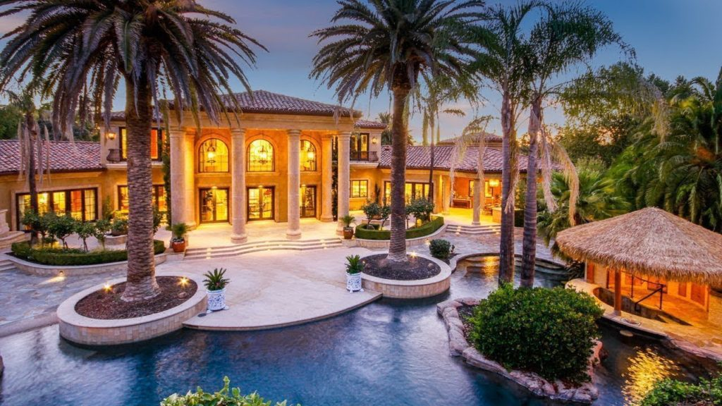 Home Tour Inside A World Class Mediterranean House In California