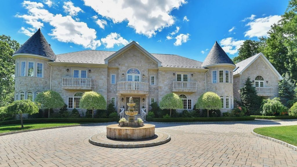 Exquisitely Glamorous Modern Day Castle Home Custom Built To Last For  Centuries!   Luxury Home Tour