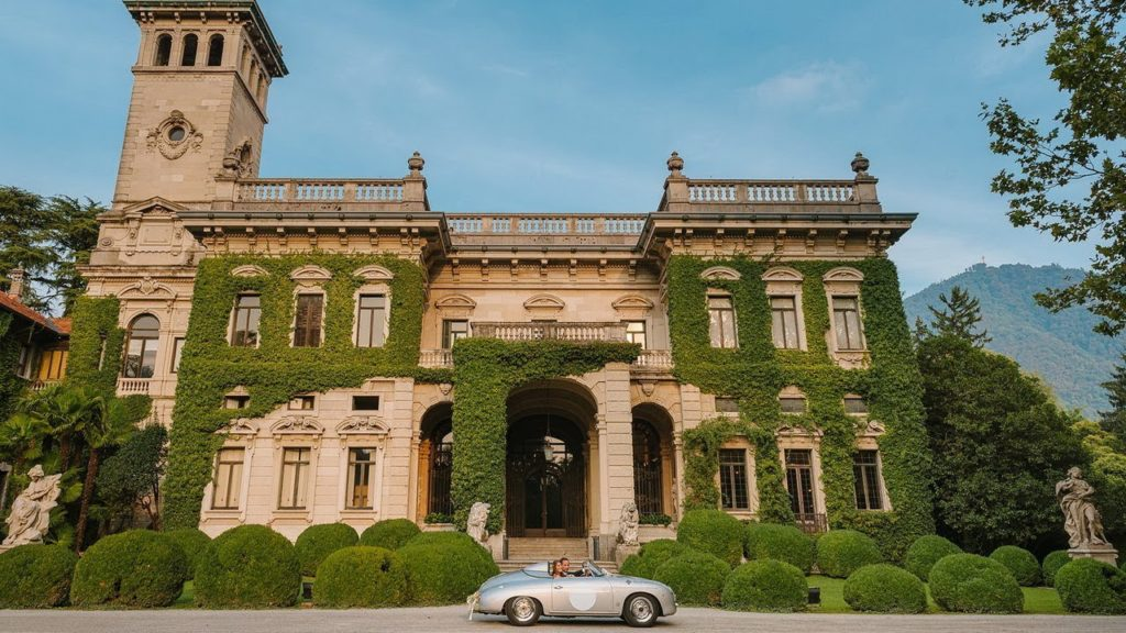 Stunning Historic Italian Grand Villa on the Shores of Lake Como, Italy Luxury Homes Tours VIDEOS