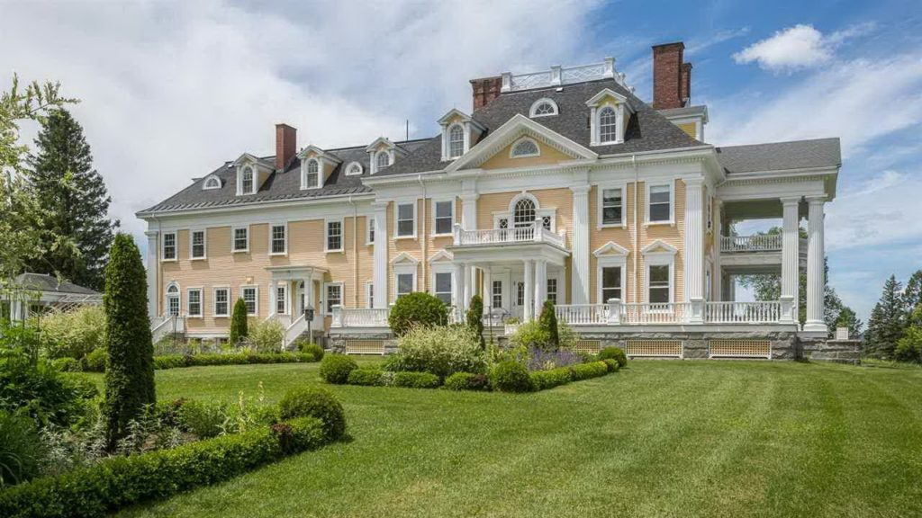 Home Tour Inside A Classic Colonial Revival Style Architecture Mansion In  Vermont
