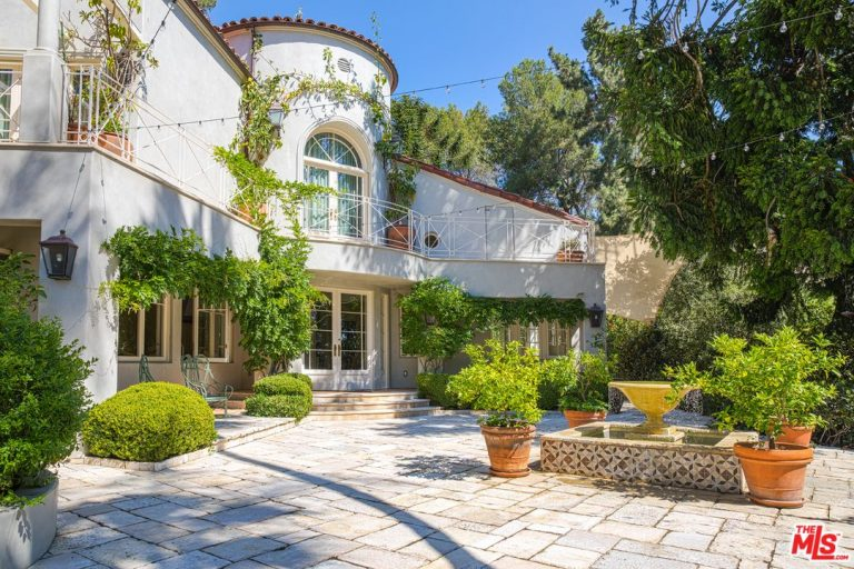 Katy Perry Is Asking $9.5M For Her Hollywood Hills Mediterranean-style Home CELEBRITY HOMES LUXURY REAL ESTATE NEWS