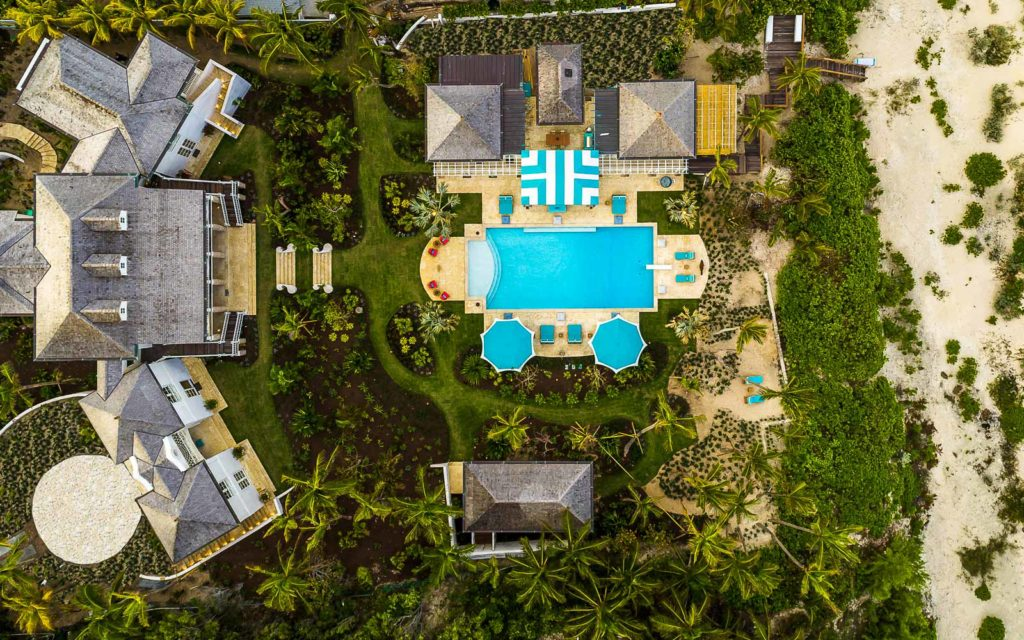 Stunning Palatial Beachfront Home in the Bahamas | Villa Rosalita HOT PROPERTIES LUXURY HOMES