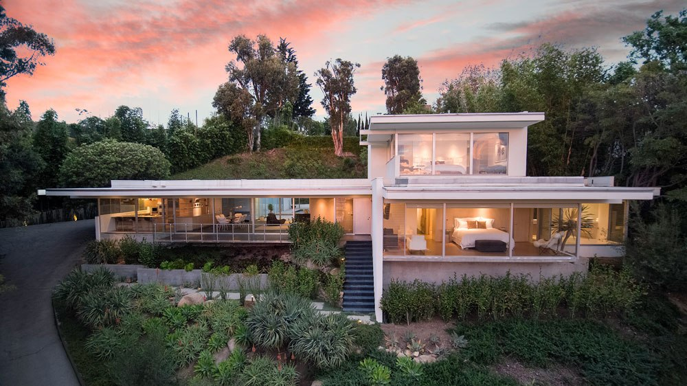 Luxury Mid Century Modern Contemporary Home Designed By