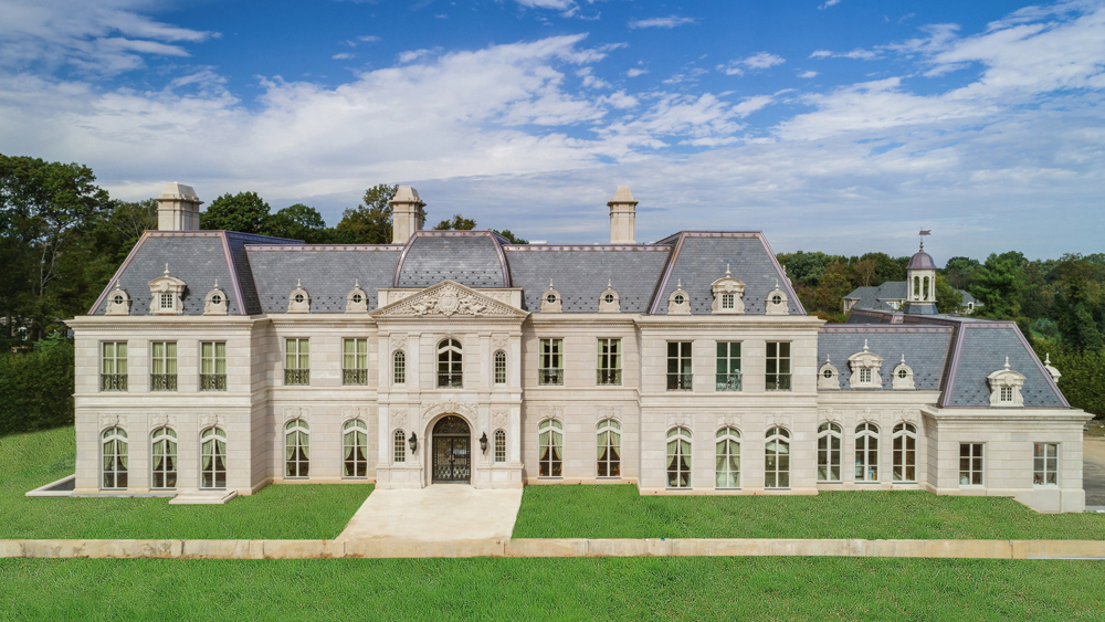 $60 Million Outstanding French Chateau Style Mansion Inspired By Versailles  In Long Island | Luxury Architecture