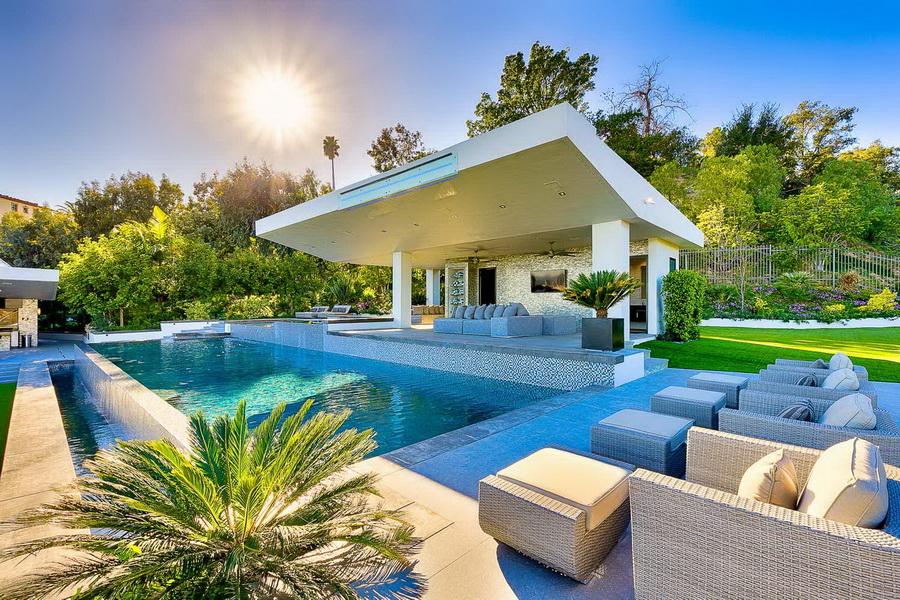 100 000 000 Modern Contemporary Bel Air Mega Mansion