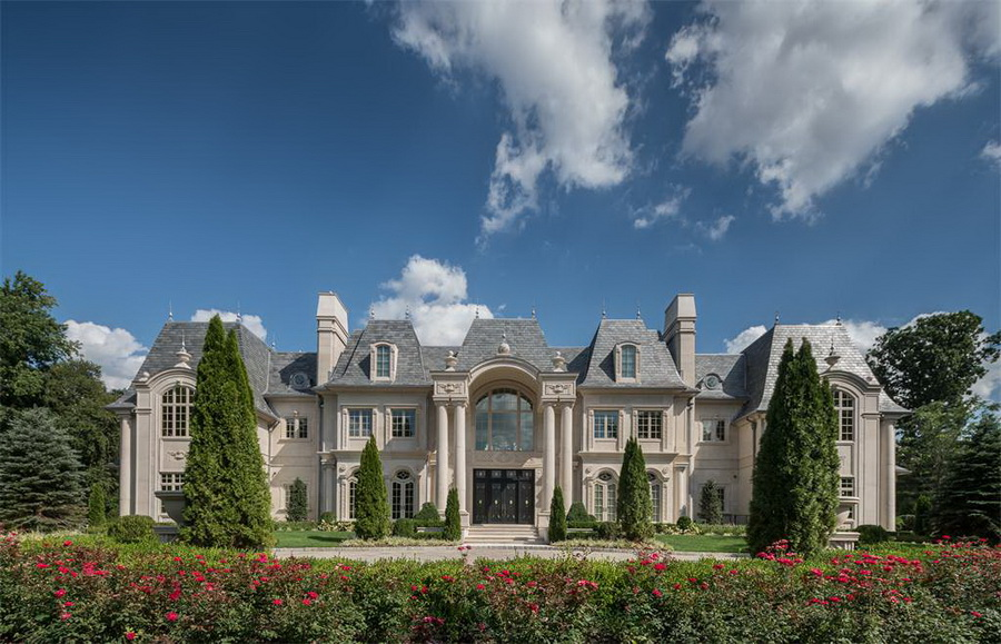 Imagereader 1 25000000 french style limestone chateau in new jersey chateau de la roche