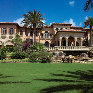 Oceanfront Mediterranean Mega Mansion Traces Its Architectural And Design  Roots To Old Europe | Luxury Architecture