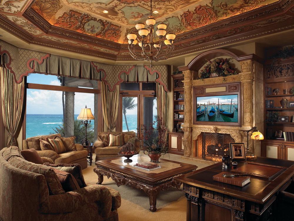 Oceanfront Mediterranean Mega Mansion Traces Its