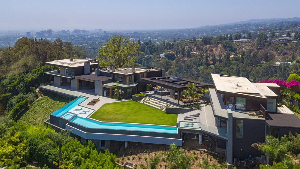 Outstanding Modern Contemporary Style Mansion in Beverly Hills ...