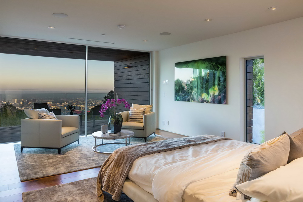1895RisingGlen047 Luxury Modern Contemporary Style House In Los Angeles  Where Britney Spears Once Lived