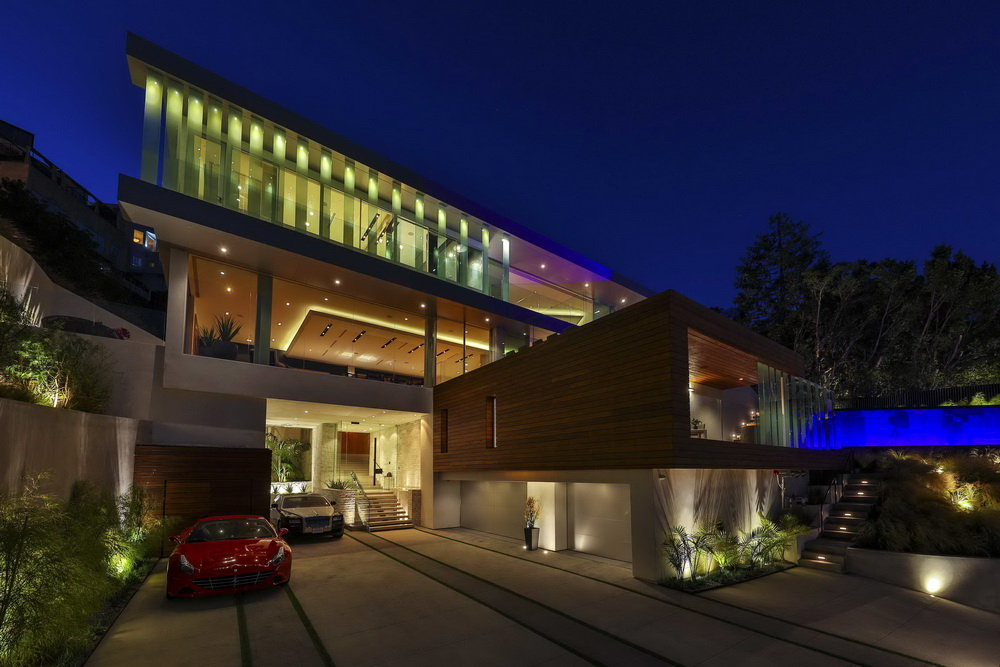 Luxury Modern Contemporary Style House in Los Angeles Where Britney ...