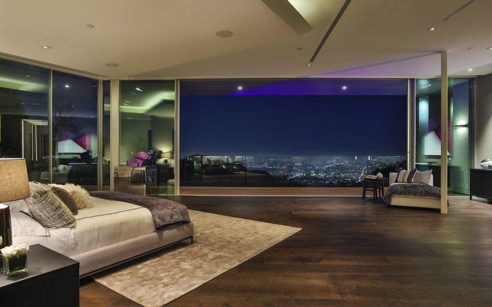 1895RisingGlen074 Luxury Modern Contemporary Style House In Los Angeles  Where Britney Spears Once Lived