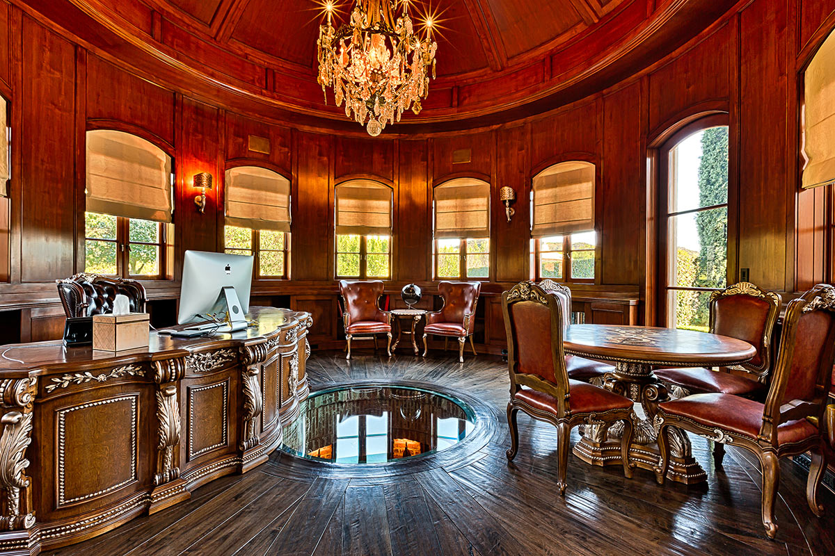Grand French Chateau Style Mega Mansion In Beverly Hills