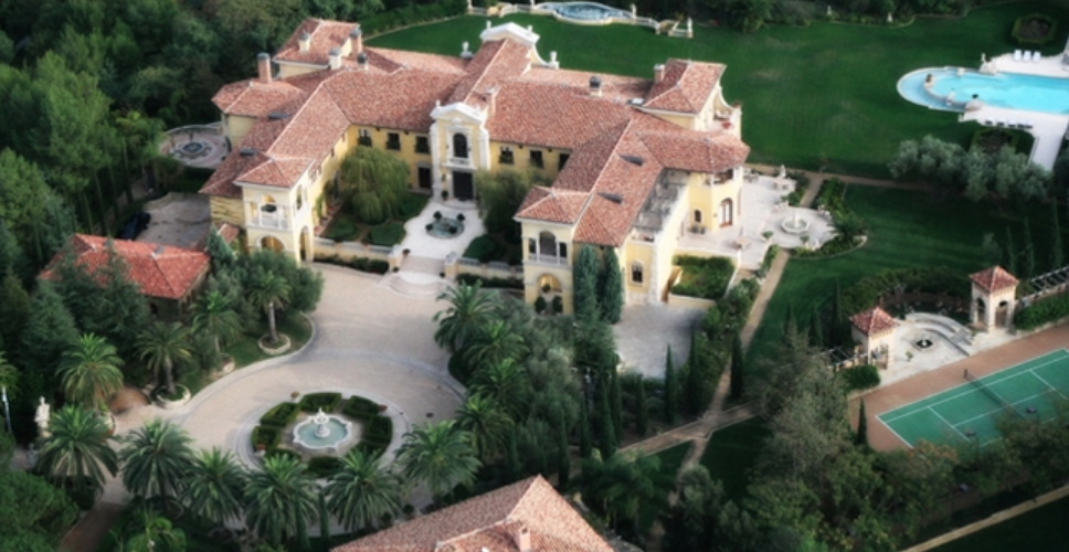 Villa Firenze   $165 Million Mediterranean Mega Mansion in