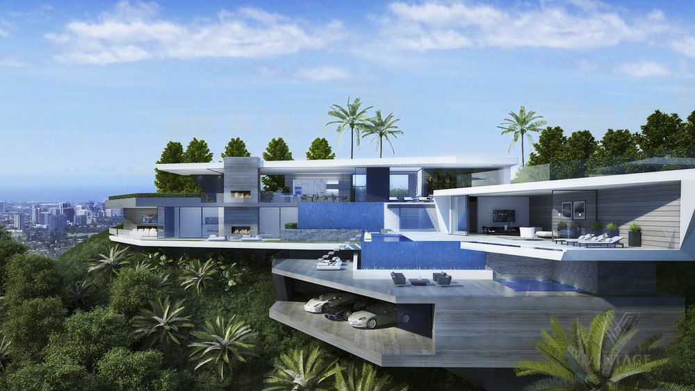 Amazing Futuristic Looking Home Design Concept From Vantage Design ...