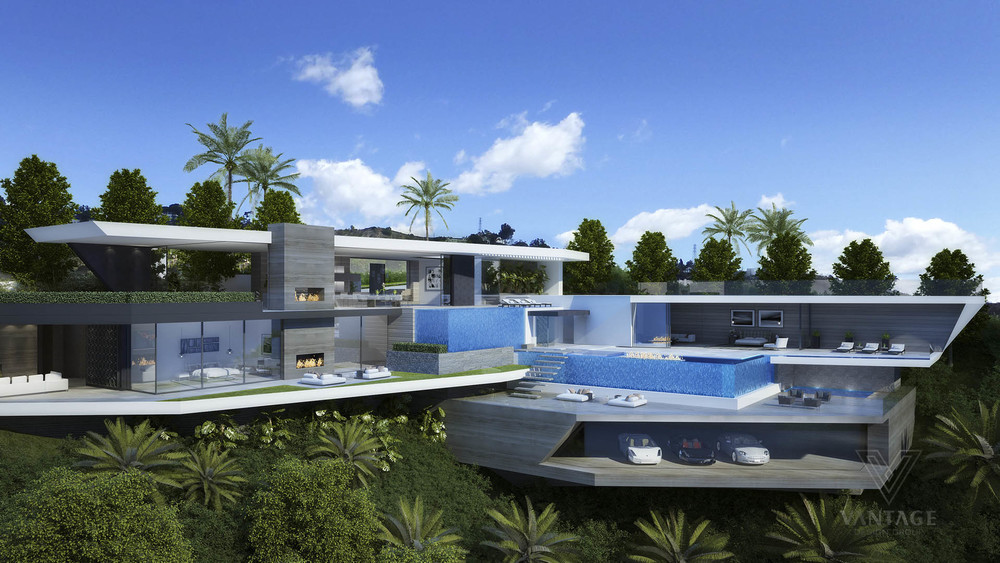 Amazing Futuristic Looking Home Design Concept From Vantage Design Group Luxury Architecture