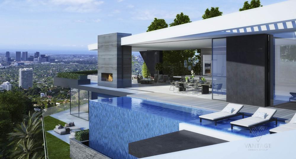 Amazing Futuristic Looking Home Design Concept From Vantage Design ...