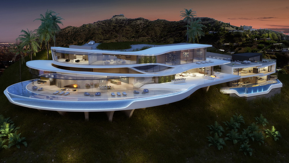 Amazing and Luxury Futuristic Looking Home Concept From Vantage ...