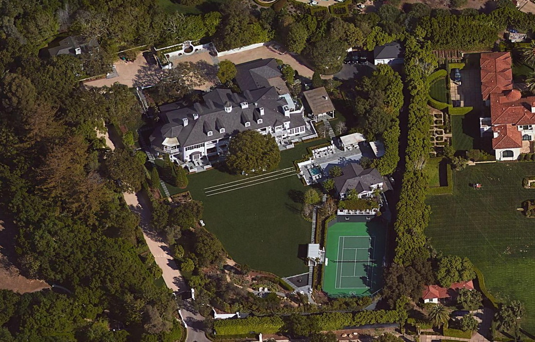 Actor Rob Lowe Lists His Oakview Estate In Montecito For
